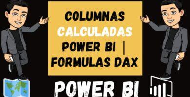 Columnas Calculadas Power BI Formulas DAX