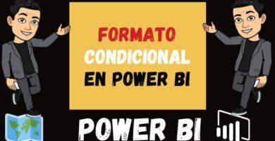 Formato Condicional en Power Bi Tablas o Matrices y Color Saturation