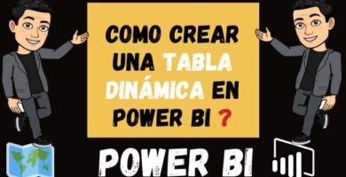 Como Crear Una TABLA DINÁMICA en Power Bi