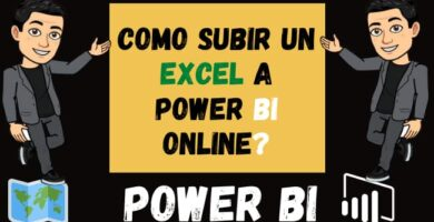 Como Subir un Excel a Power Bi Online o power bi web