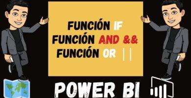 Como USAR la Función IF Función AND && y Función OR ||