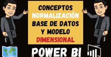 Conceptos Básicos de Normalización Base de Datos y Modelo Dimensional