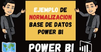 Ejemplo de Normalizacion base de datos Power BI